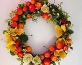 An Apple A Day Wreath