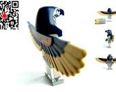 4GB USB Flash Drive in original Lego Minifigure Mumie with Wings handmade