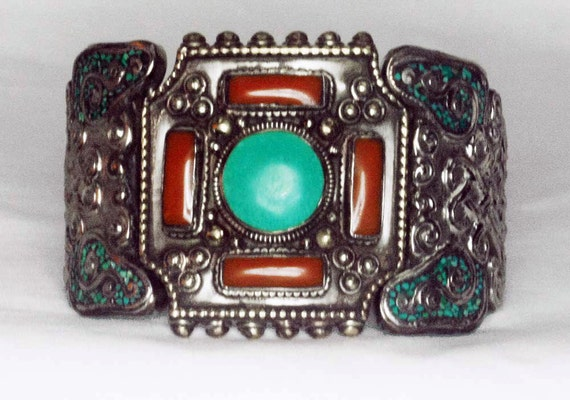 RESERVED FOR ARTJIAN - Vintage Nepalese Tailored Bracelet - Personal Collection