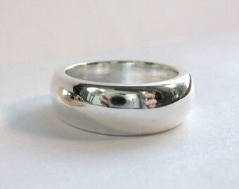 Big Sterling Silver Band