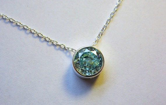 Silver And Icy Blue Pendant