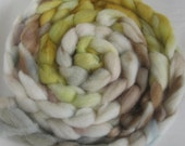 Holly Goodhead - Bond wool hand dyed roving spinning fiber 2.2 oz