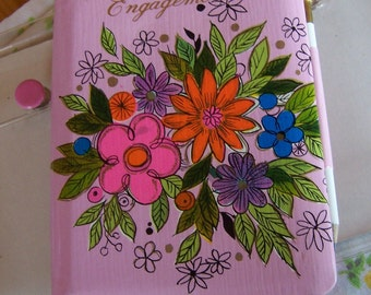 little pink engagement book