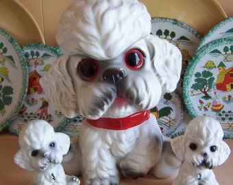 three piece poodle set