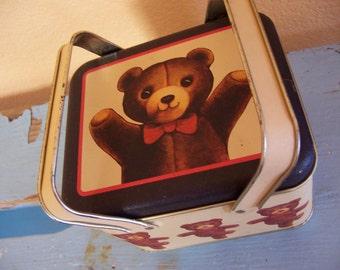 teddy carry all tin