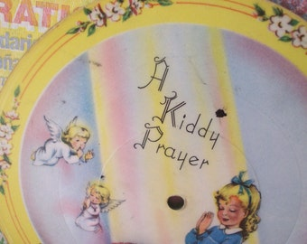 lead kindly light and a kiddy prayer paper record