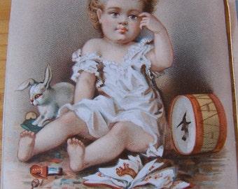 little children artwork paper ephemera