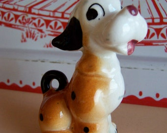 little vintage doggy  figurine