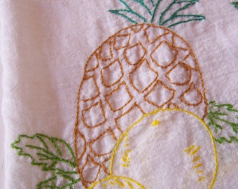 lots of fruit kitchen towel