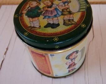 cutest little round tin