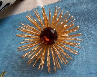 sarah coventry burst of beauty brooch