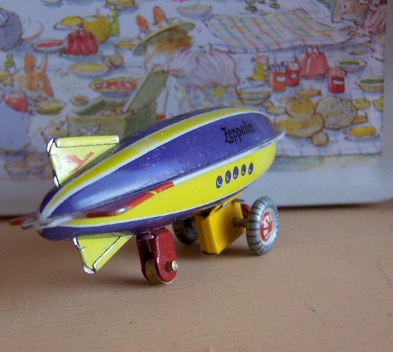 tiny zeppelin from germany toy