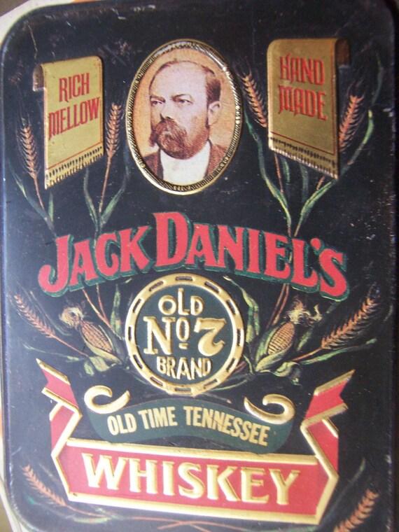 hudson scott and sons jack daniels whiskey tin