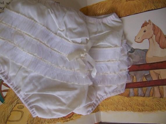 Vintage Plastic Baby Pants