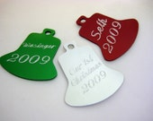 PERSONALIZED ENGRAVED HOLIDAY TREE ORNAMENT