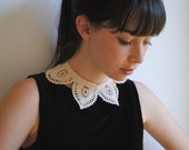 Shirt Collar Ecru White Cotton Fashion Custom Made - twoknit