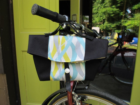 Small Bike Handlebar Bag Bicycle Basket