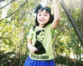 viva la frida toddler shirt