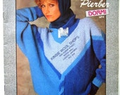 Dormi No. 4 Womens Sweater Patterns to Knit - Laines Pierber - French & English Instructions