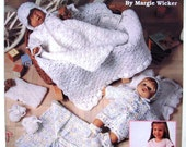Dressing Up Dolly by Leisure Arts No 2725 Patterns for Dolls 5 Outfits plus Accessories for 12 inch (30 cm) Baby Dolls