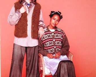 Classic Elite Yarns Pattern No.650 Amber Dhurries - Kilimanjaro, La Gran Mohair, Kelso, Mackenzie, Montera