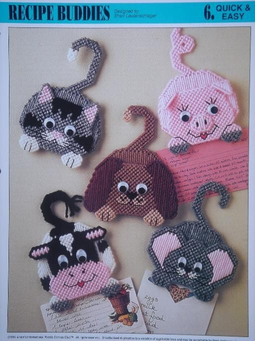 Recipe Buddies Plastic Canvas Patterns From Annie S