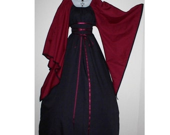 Reserved for Shyra Any Color Fabric and Trim Fantasy Style Dress Gown Costume by LoriAnn Costume Designs - Choose size