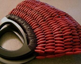 Paper Bead Purse-Red Jen-Advance Orders