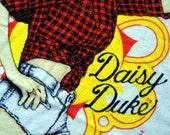 Vintage 80's Daisy Duke Beach Towel