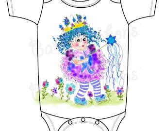 Ruthie the Chanukah Princess Onesie by Rosanna Hope for Babybonbons