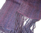 Brighton Honeycomb handspun scarf