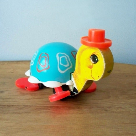 Fisher Price Turtle Pull Toy 773