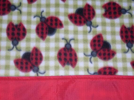 Waterproof Picnic Blanket - Ladybug Luncheon