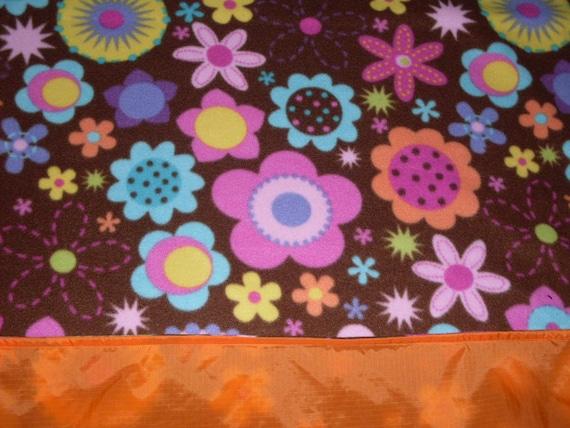 Waterproof Picnic Blanket - A Fancy Flower Fest