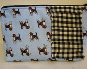 English Hunting Dogs Cosmetic Bag