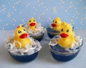 Glycerin Soap Duck in a Pond / Unscented
