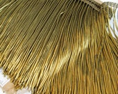 ANTIQUE French Gold BULLION Metallic FRINGE