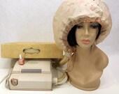 Vintage 60's Bonnet Hair Dryer, Debonaire by Westinghouse, 4-Speeds, Original Box
