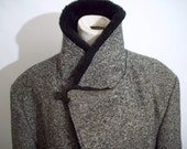 Your Burly Manly Man's Tweed Hunting  Jacket - Plush and Heavy - Size 44