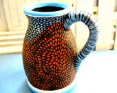 CLEARANCE Tiny Hand Painted Pitcher