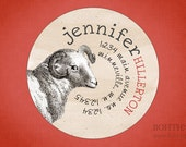 Personalized Address Label Sticker - Baa, Baa Sheep