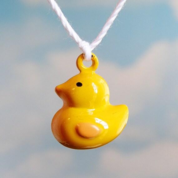 Yellow Duckie Jingle Bell (qty 4)