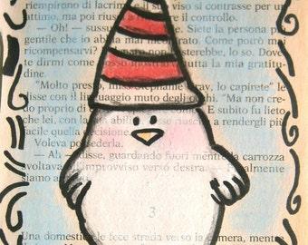 I Love My New Hat  - Original Illustration - by bdbworld on Etsy