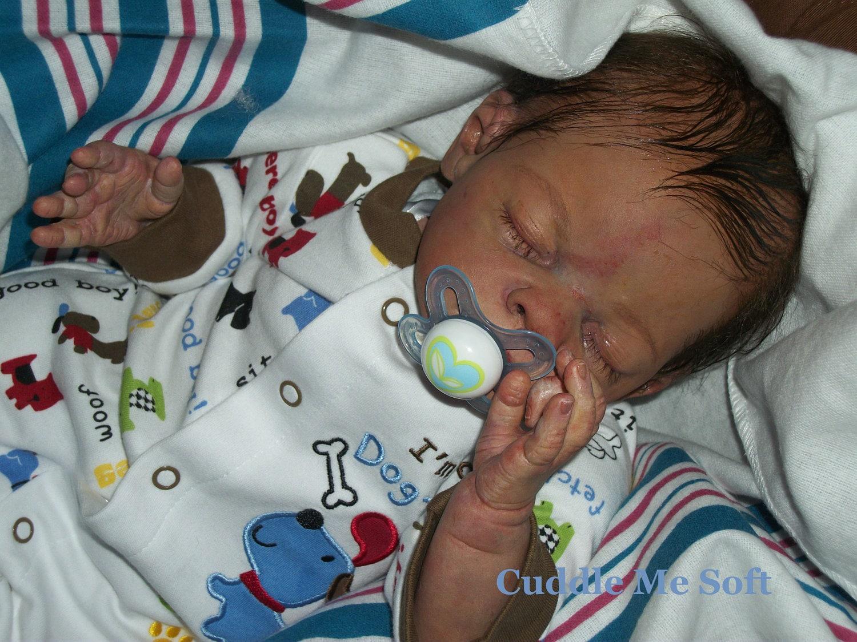Realistic Newborn Reborn Baby Boy Khain By Tina Kewy Micro