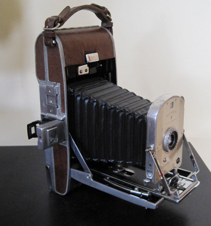 Model Land Movie: Kodak Polaroid Land Camera Model 95 With Case And Accessories