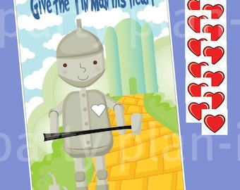 Give the Tin Man A Heart Wizard of Oz Party Game