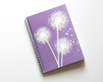 Large Coupon Organizer with 14 Pockets - Pre Printed Labels Included - Purple Wishing Flowers