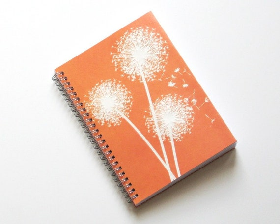 Large Coupon Organizer with 14 Pockets - Pre Printed Labels Included - Orange Wishing Flowers