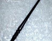 EBONY Handmade MAGIC WAND, Pagan, Wicca, Wizard, Fairy, Druid
