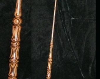 BOCOTE Handmade MAGIC WAND, Pagan, Wicca, Fairy, Wizard, Druid